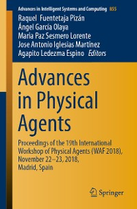 Cover Advances in Physical Agents