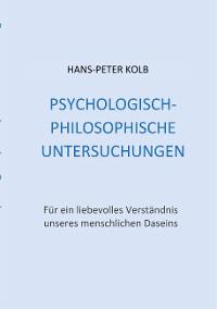 Cover Psychologisch-philosophische Untersuchungen