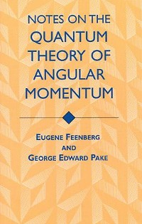 Cover Notes on the Quantum Theory of Angular Momentum