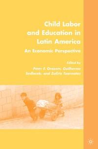 Cover Child Labor and Education in Latin America