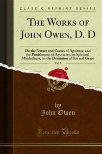 Cover The Works of John Owen, D. D