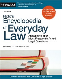 Cover Nolo's Encyclopedia of Everyday Law