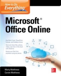 Cover How to Do Everything: Microsoft Office Online