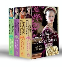 Cover In the Tudor Court Collection: Ransom Bride / The Pirate's Willing Captive / One Night in Paradise / A Most Unseemly Summer / A Sinful Alliance / A Notorious Woman / His Runaway Maiden / Pirate's Daughter, Rebel Wife (Mills & Boon e-Book Collections)