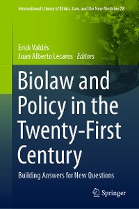 Cover Biolaw and Policy in the Twenty-First Century