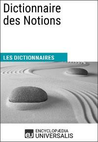 Cover Dictionnaire des Notions