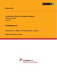 Cover E-Valuation 2.0
