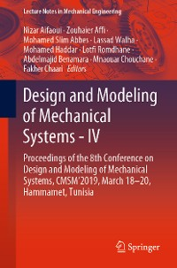 Cover Design and Modeling of Mechanical Systems - IV