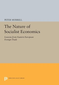 Cover The Nature of Socialist Economics