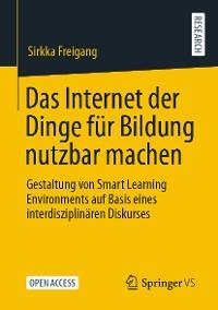 Cover Das Internet der Dinge für Bildung nutzbar machen