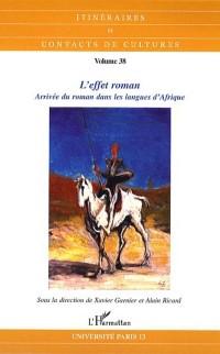 Cover Effet roman