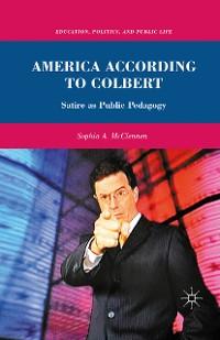 Cover America According to Colbert