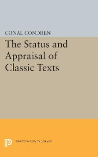 Cover The Status and Appraisal of Classic Texts