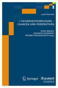 Cover Sicherheitsforschung