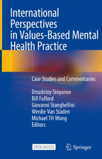 Cover International Perspectives in Values-Based Mental Health Practice