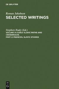 Cover Medieval Slavic Studies