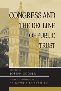 Cover Congress And The Decline Of Public Trust