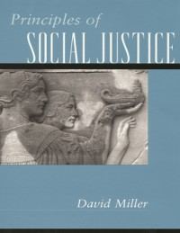 Cover Principles of Social Justice