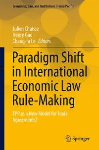 Cover Paradigm Shift in International Economic Law Rule-Making