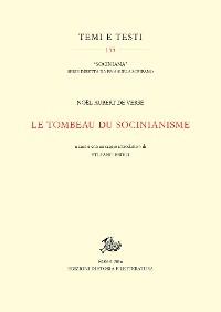 Cover Le tombeau du socinianisme