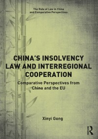 Cover China's Insolvency Law and Interregional Cooperation