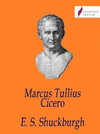 Cover Marcus Tullius Cicero