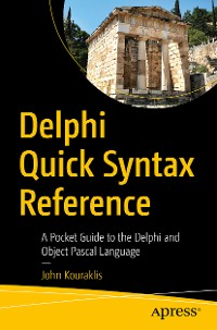 Cover Delphi Quick Syntax Reference