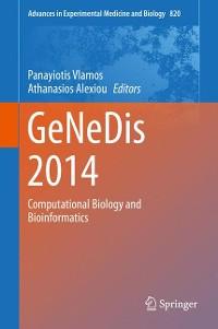Cover GeNeDis 2014