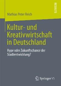 Cover Kultur- und Kreativwirtschaft in Deutschland