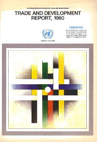 Cover Trade and Development Report 1990