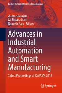 Cover Advances in Industrial Automation and Smart Manufacturing
