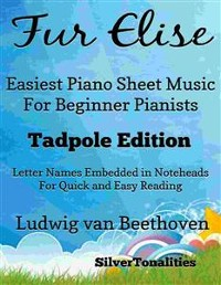 Cover Fur Elise Easiest Piano Sheet Music for Beginner Pianists