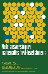 Cover Model Answers in Pure Mathematics for A-Level Students