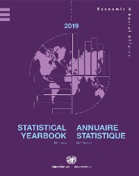 Cover Statistical Yearbook 2019, Sixty-second Issue/Annuaire Statistique 2019, Soixante-deuxième édition
