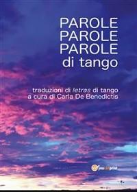 Cover Parole, parole, parole di tango