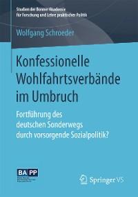 Cover Konfessionelle Wohlfahrtsverbände im Umbruch