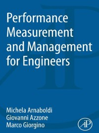 Cover Performance Measurement and Management for Engineers