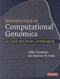 Cover Introduction to Computational Genomics