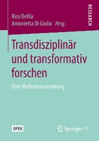 Cover Transdisziplinär und transformativ forschen