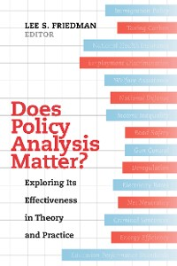 Cover Does Policy Analysis Matter?