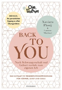 Cover Oje, ich wachse! Back To You