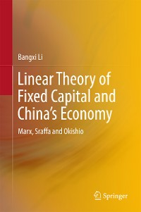 Cover Linear Theory of Fixed Capital and China's Economy