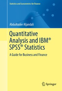 Cover Quantitative Analysis and IBM® SPSS® Statistics