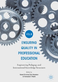 Cover Ensuring Quality in Professional Education Volume II