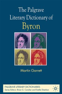 Cover The Palgrave Literary Dictionary of Byron