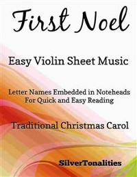 Cover First Noel Easy Violin Sheet Music