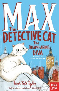 Cover Max the Detective Cat: The Disappearing Diva