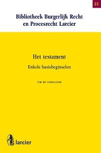 Cover Het testament