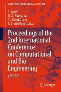 Cover Proceedings of the 2nd International Conference on Computational and Bio Engineering