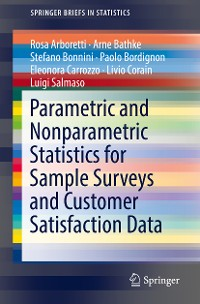 Cover Parametric and Nonparametric Statistics for Sample Surveys and Customer Satisfaction Data